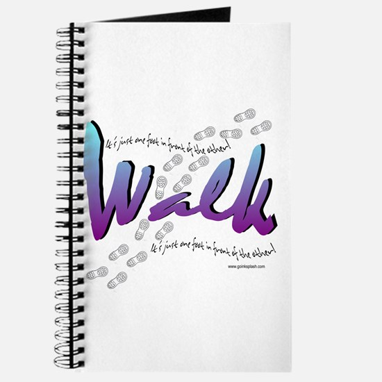 Walk - Just one foot Journal