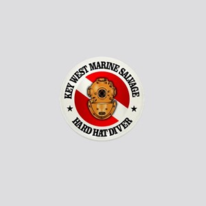 Key West Marine Salvage Mini Button