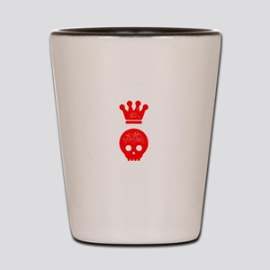 Hollow Crown Shot Glass