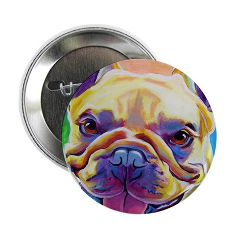 """Frenchie #3 2.25"""" Button"""
