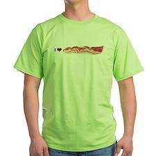 BACON Green T-Shirt