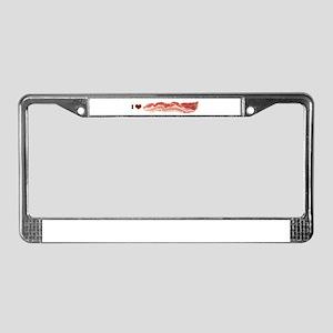BACON License Plate Frame