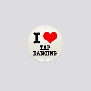 I Heart (Love) Tap Dancing Mini Button