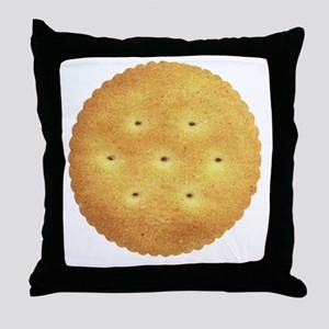 CRACKER, and proud of it! Throw Pillow