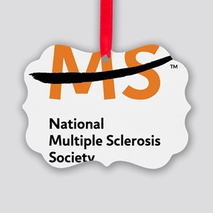 National MS Society Picture Ornament