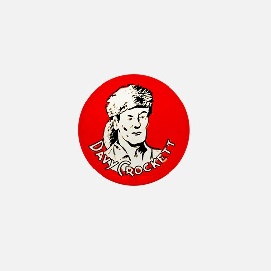 Davy Crockett #1 Mini Button
