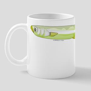 Silverside minnow fish t Mug
