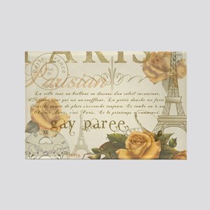 Vintage Paris Rectangle Magnet