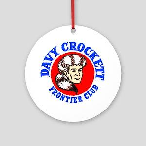 Davy Crockett #2 Ornament (Round)