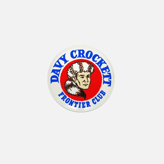 Davy Crockett #2 Mini Button