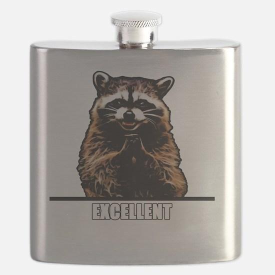 Evil Raccoon Flask