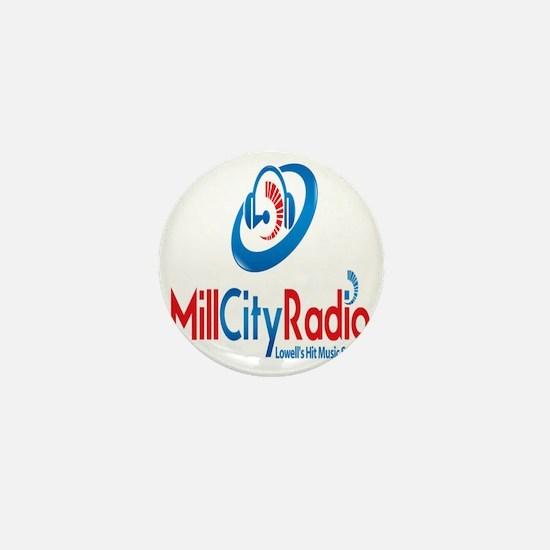Mill City Radio  Mini Button