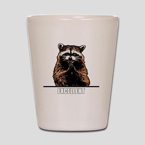 Evil Raccoon Shot Glass