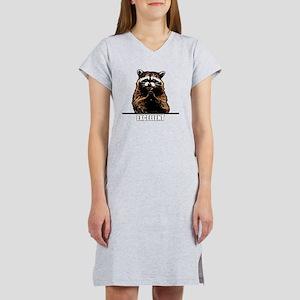 Evil Raccoon Women's Nightshirt