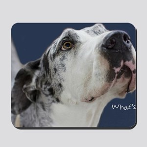Great Dane Birthday Card Mousepad