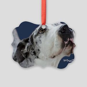 Great Dane Birthday Card Picture Ornament