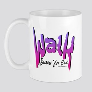 Walk Because you can! Pink Mug