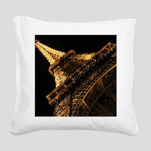 eiffelanglemouse1 Square Canvas Pillow