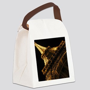 eiffelanglemouse1 Canvas Lunch Bag