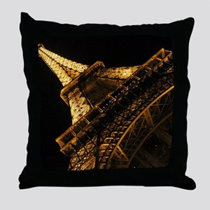 eiffelanglemouse1 Throw Pillow