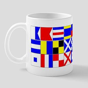 A-Z 3/4 Mug
