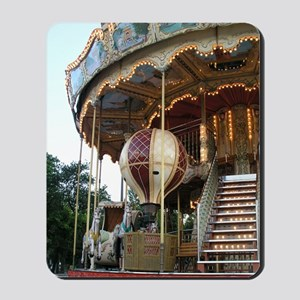 Paris Carousel Mousepad