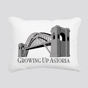 GUA Hellgate Logo Rectangular Canvas Pillow