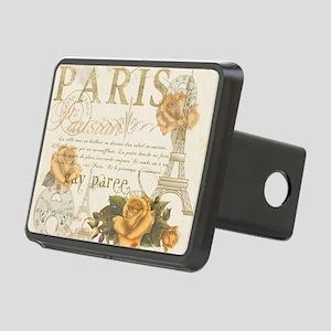 Vintage Paris Rectangular Hitch Cover