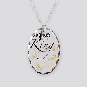 Daughter of a King Necklace Oval Charm