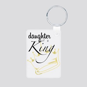 Daughter of a King Aluminum Photo Keychain