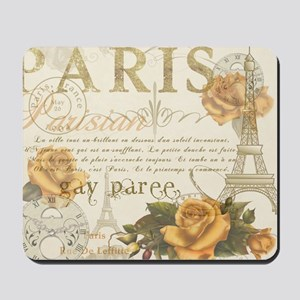 Vintage Paris Mousepad