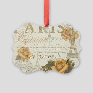 Vintage Paris Picture Ornament