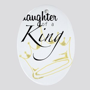 Daughter of a King Oval Ornament