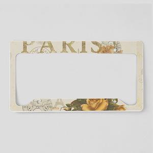Vintage Paris License Plate Holder