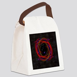 Portal / Starry Void Canvas Lunch Bag