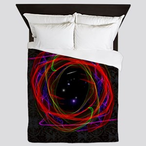 Portal / Starry Void Queen Duvet