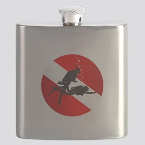 Divemaster (Round) Flask