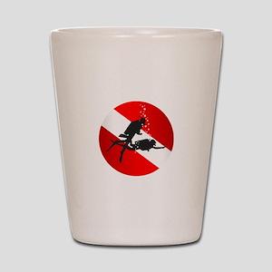 Divemaster (Round) Shot Glass