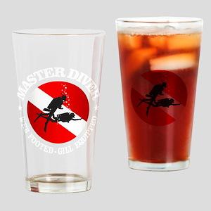 Master Diver (Round) Drinking Glass