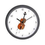 Cello instruments Wall Clocks