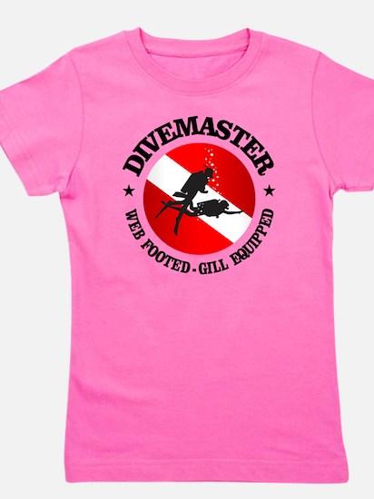Divemaster (Round) Girl's Tee