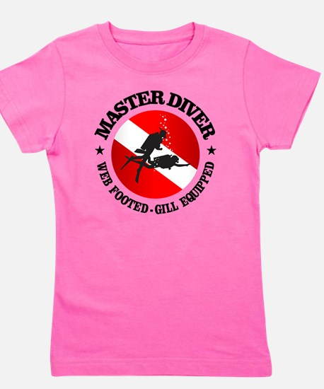 Master Diver (Round) Girl's Tee