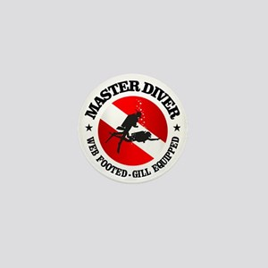 Master Diver (Round) Mini Button