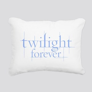 Twilight Forever Logo Light Blue Rectangular Canva