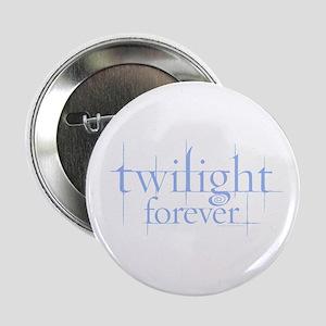 Twilight Forever Logo Light Blue 2.25&Quot; Button