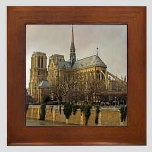 notre damemouse1 Framed Tile