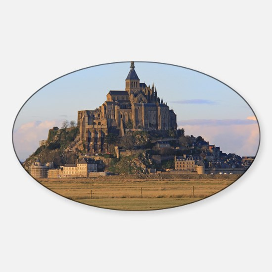Mont St. Michel Sticker (Oval)