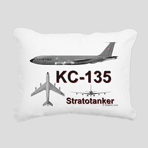KC-135A Stratotanker Rectangular Canvas Pillow