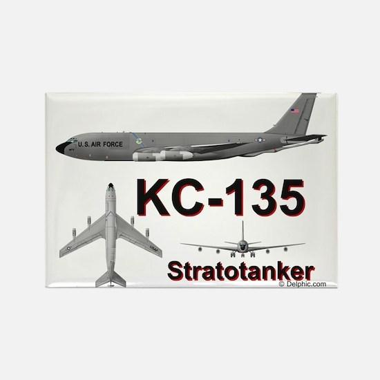 KC-135A Stratotanker Rectangle Magnet