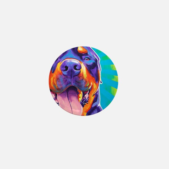 Rottie #4 Mini Button